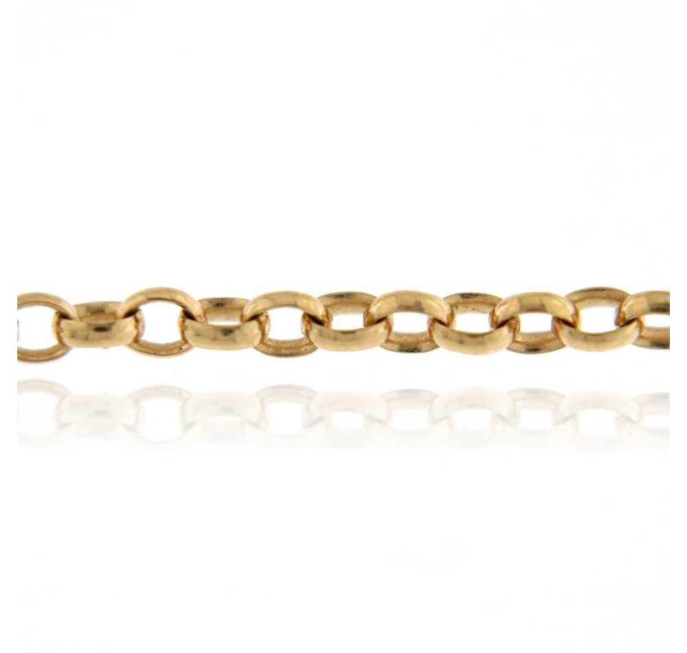 Belcher Chain 90cm Rose Gold