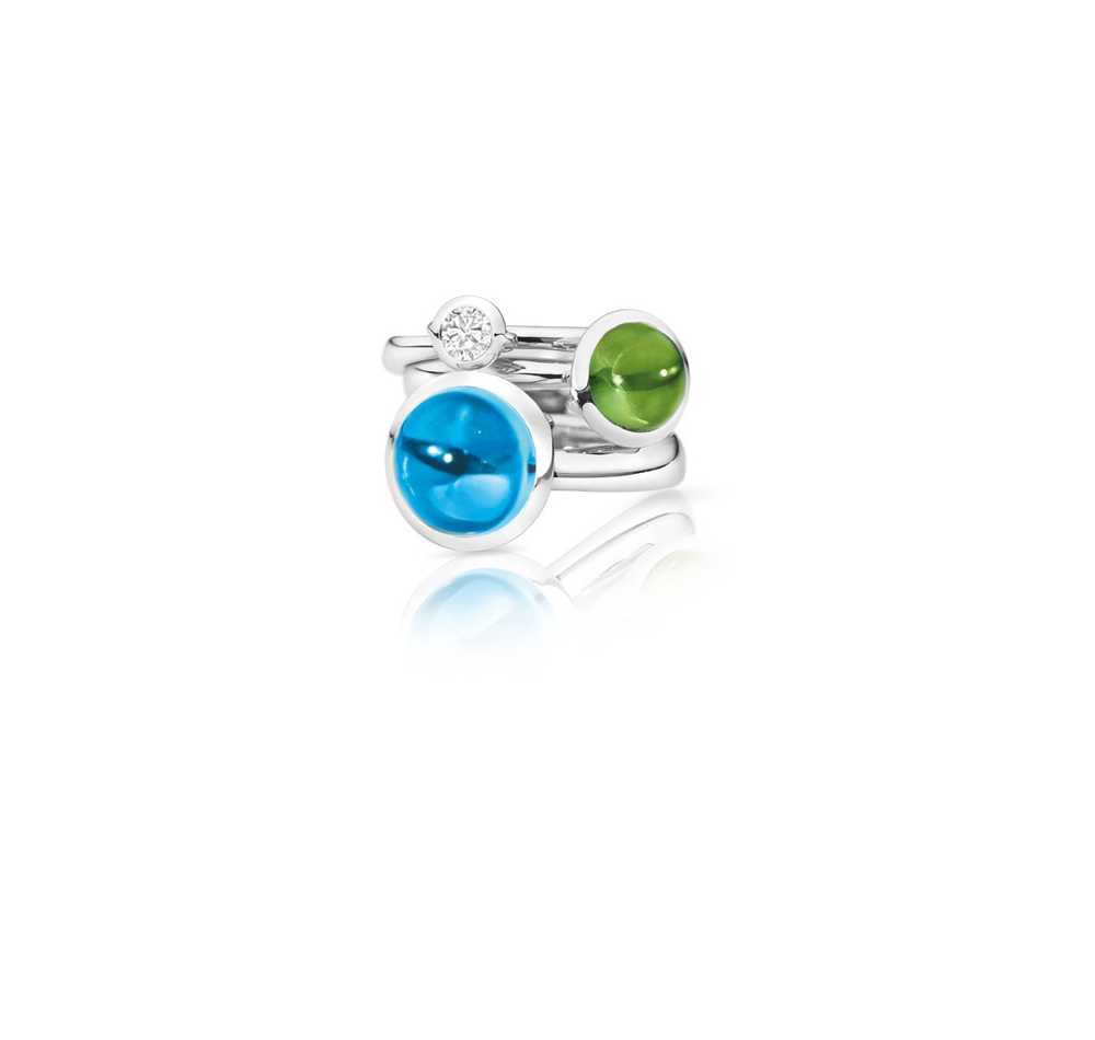 Bouton Solitaire Ring Diamond