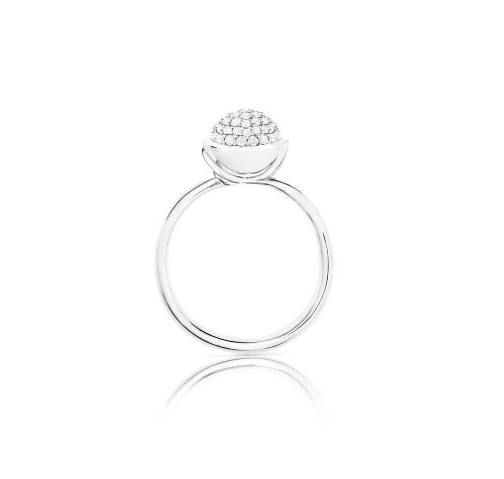 Bouton Small Diamond Pavé