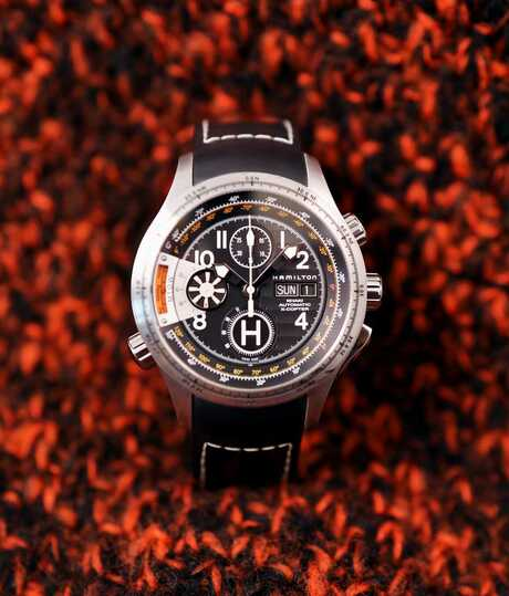 Hamilton Khaki Aviation X-Copter Chronograph