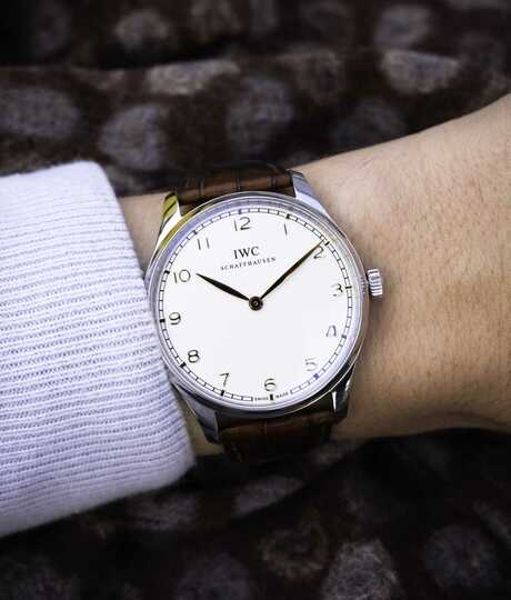 IWC Pure Classic staal 44 mm
