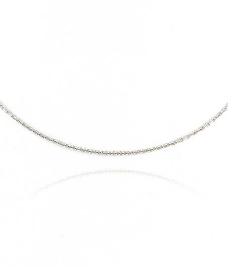 Oval Belchor Chain White Gold