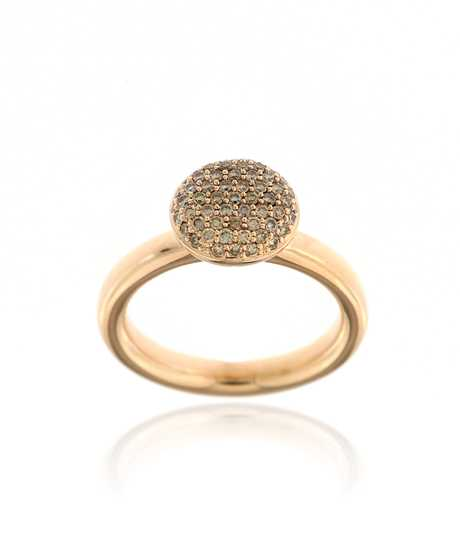 Stardust Ring Ronde tablet  57 ° 0.40 ct R/VVs