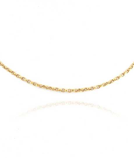 Belcher Chain 90cm Rose Gold