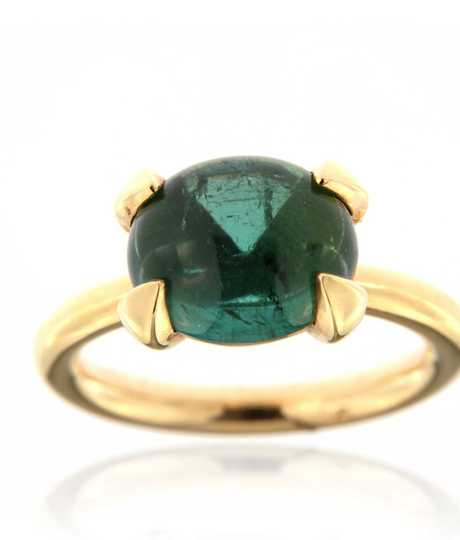 Catch ring groene toermalijn