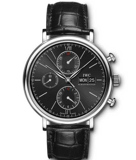 Portofino Chronograph Black 42mm