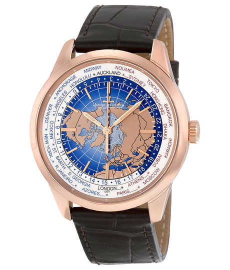 Geophysic® Universal Time roze goud