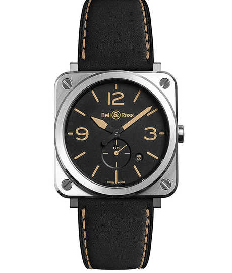 BR123 Vintage Heritage Automatic - Calfskin Strap, Water resistant 100 Aviation type