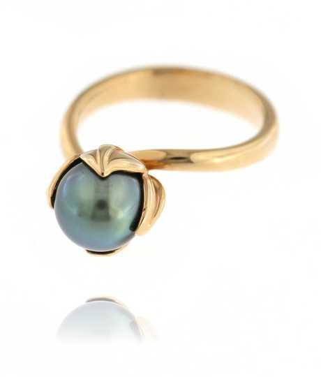 Tulip Ring Tahiti Pearl
