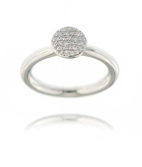 Stardust ring witte diamant