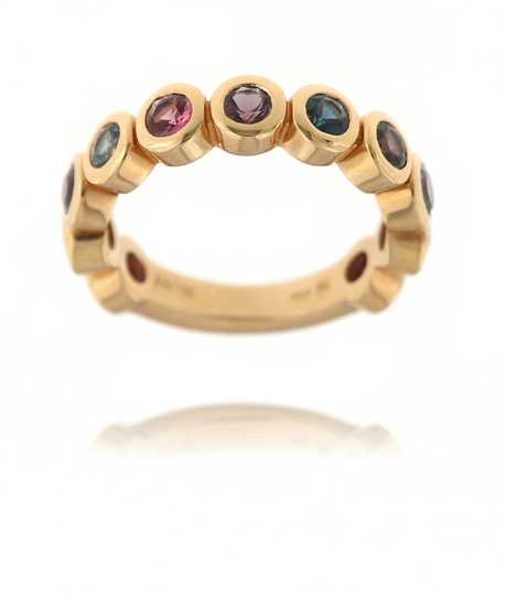 Confetti ring met Spinel