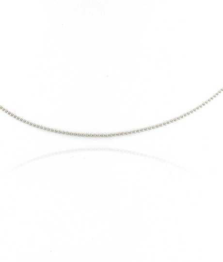 Bead Chain White Gold