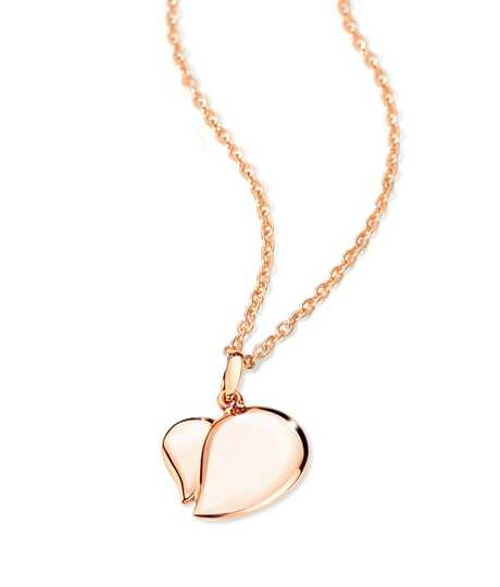 Signature Talisman Rose Gold Pendant and chain