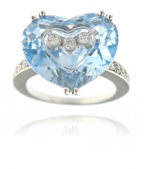 Chopard ring 'So Happy' wit goud