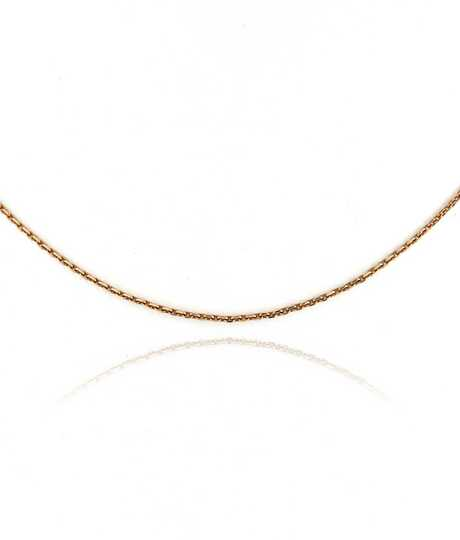 Chopard halsketting forçat roze goud