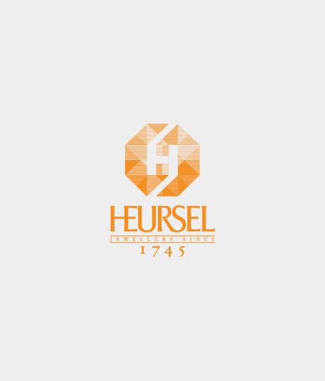 Witgouden elastische armband met kubus schakeltjes