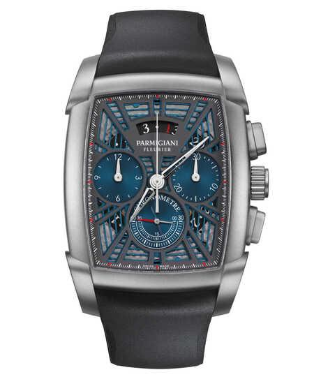 Kalpa Kalpagraphe Chronometre Titanium Blue
