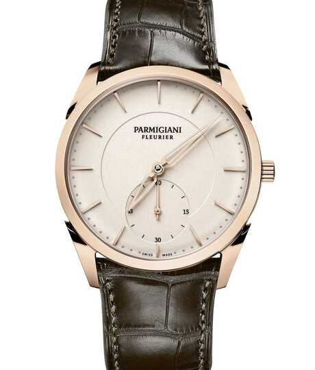 Tonda 1950 Rose Gold Grained White
