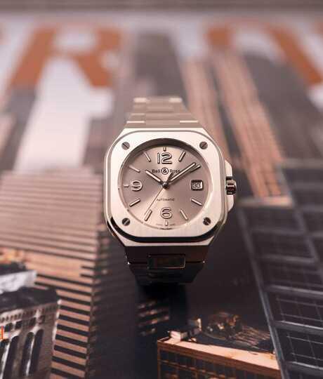 BR 05 Grey Steel Steel Bracelet