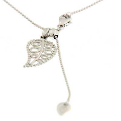 Bead Chain White Gold