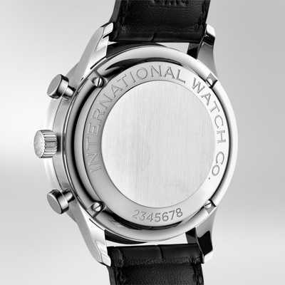 Portugieser Chronograph Auto st c / Black